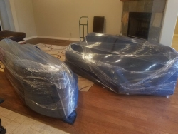 Tulsa Movers Wrapped The Furniture