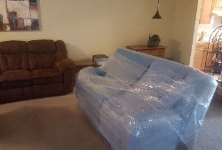 Movers Tulsa Wrapped The Couch